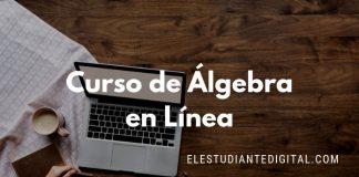 curso online gratis algebra