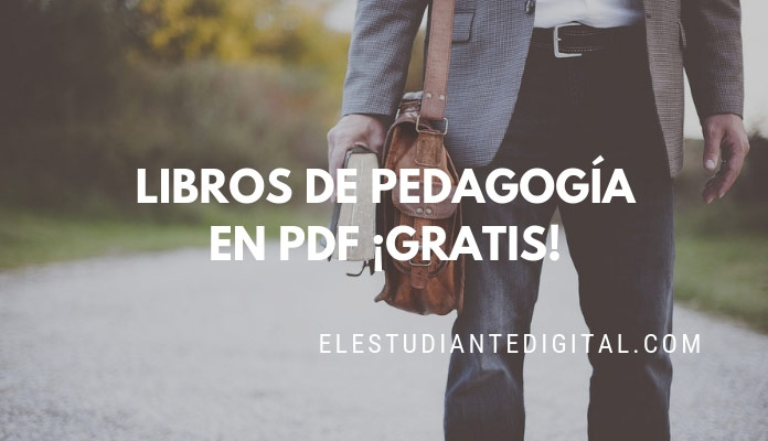 libros de pedagogia pdf