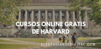 cursos online gratis harvard