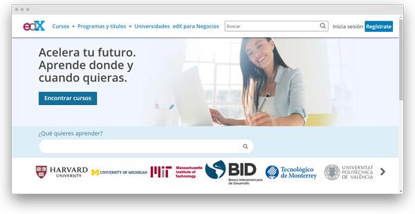 edx cursos online español