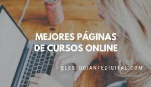 mejores paginas de cursos online