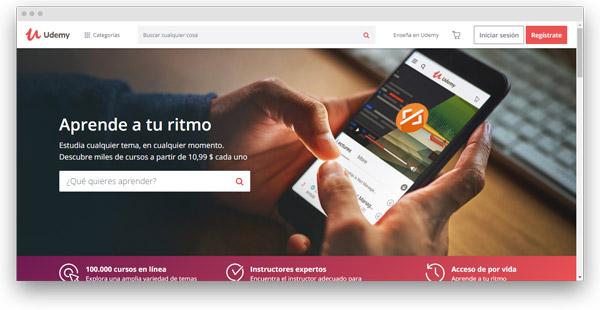 udemy cursos online español