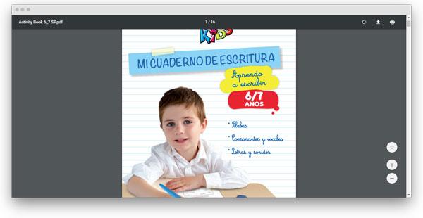 ejercicios de caligrafia para secundaria
