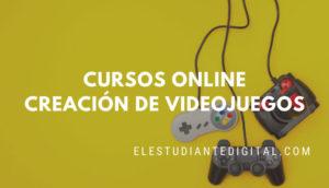 cursos online creacion videojuegos