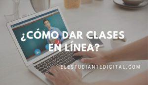 como dar clases online
