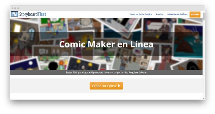 programas para hacer historietas en linea